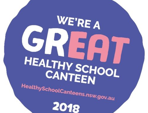 """Daceyville Primary receives """"Great Choices"""" award for a Healthy School Canteen"""