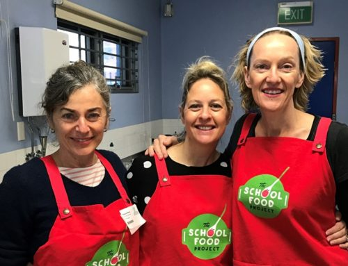 Biggest thanks to our partners at 'The School Food Project' (SFP)